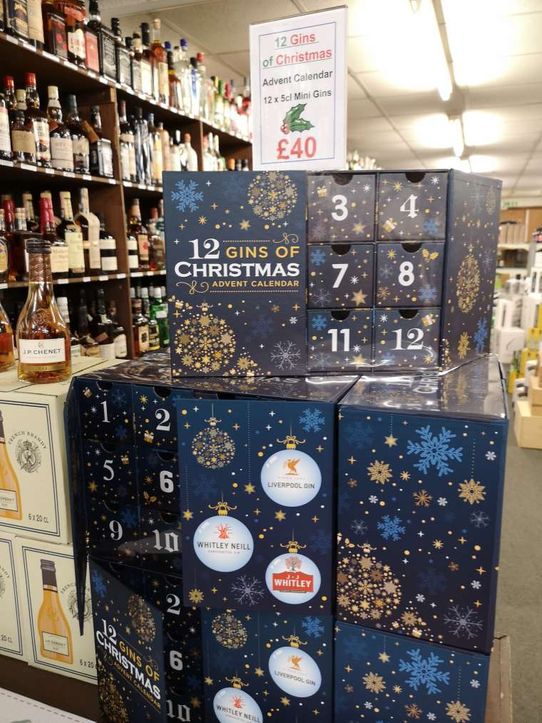 Gin Advent Calendars Now In!