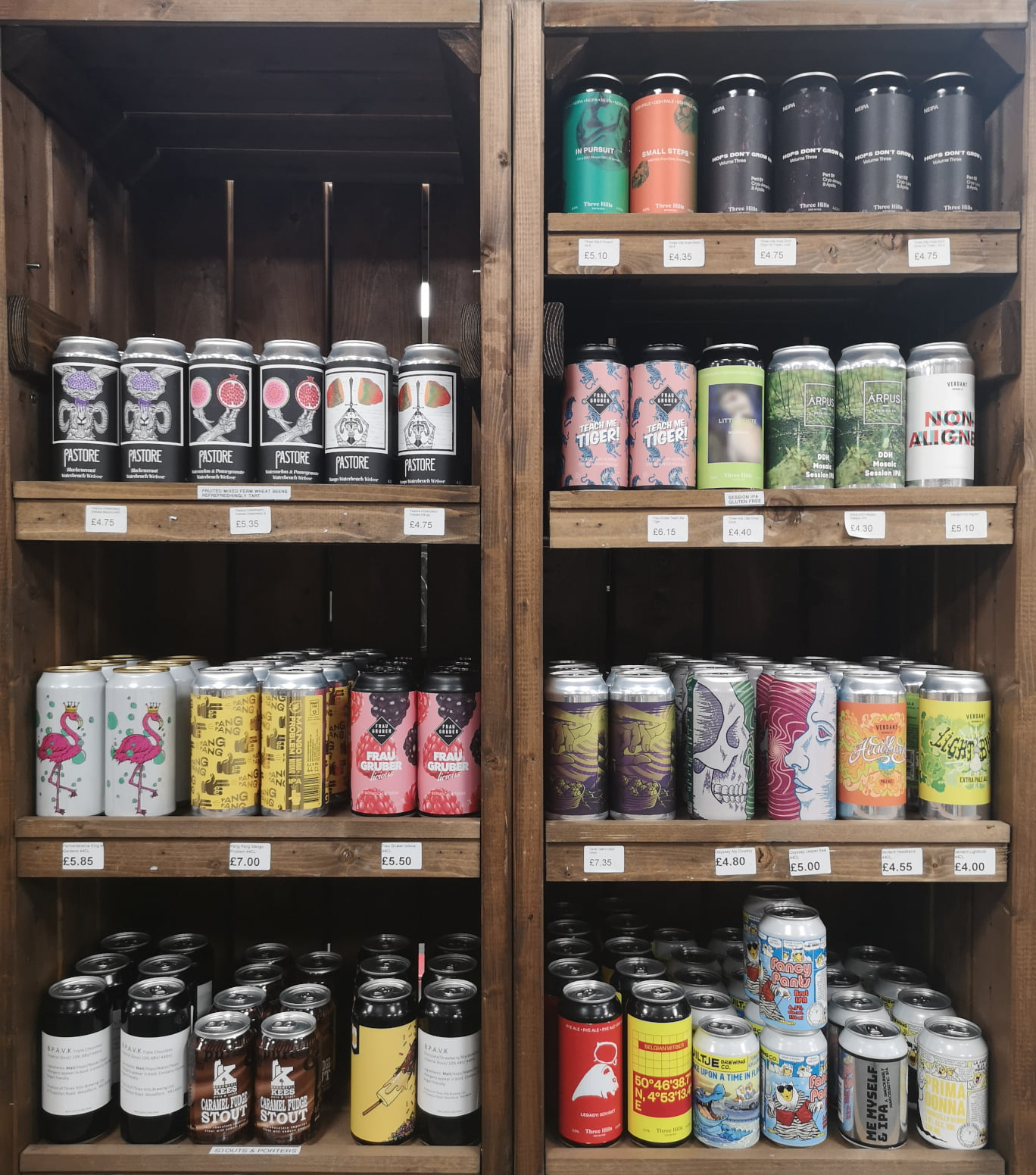 The Biggest and Best Selection of Craft Beer for Miles!